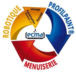 Logo circulaire ECMA Concept